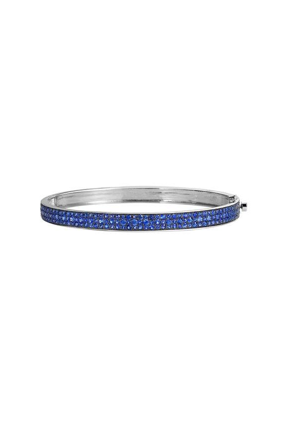 Nam Cho Blue Sapphire Bangle