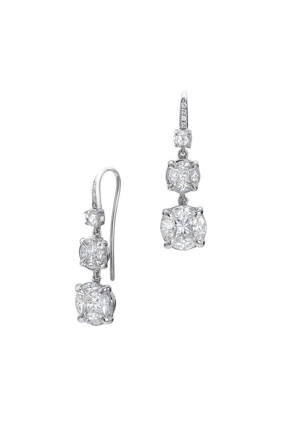 Nam Cho Diamond Drop Earrings