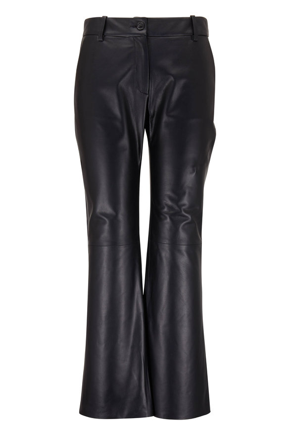 Nili Lotan Caden Leather Pocket Pant