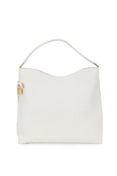 Tom Ford - Alix Chalk Leather Hobo Bag