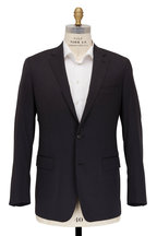 Atelier Munro - Solid Gray Stretch Wool Suit