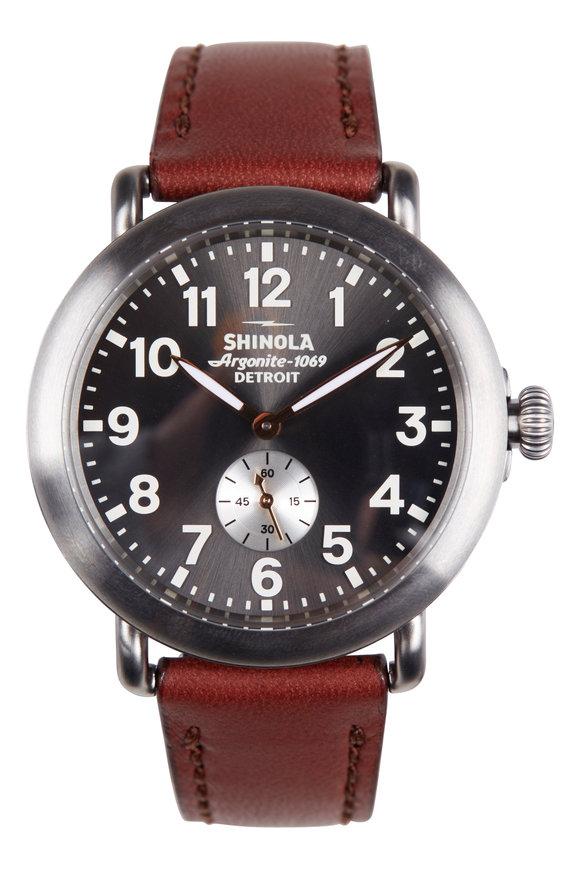 Shinola The Runwell Gunmetal Watch, 41mm