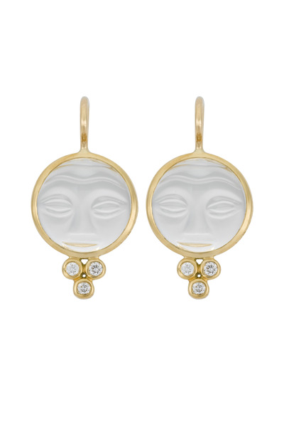 Temple St. Clair - Moonface Earrings