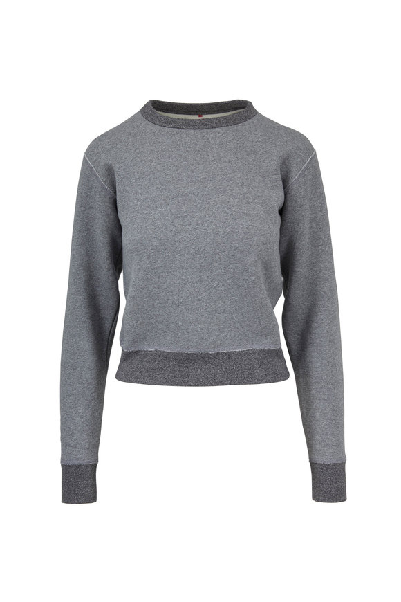 Rag & Bone Best Heather Gray Sweatshirt