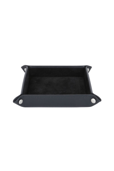 Ettinger Leather - Black Leather Travel Tray