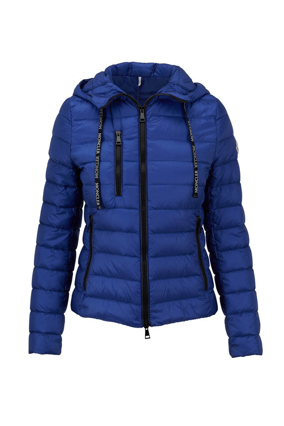 Moncler Seoul Royal Blue Puffer Jacket