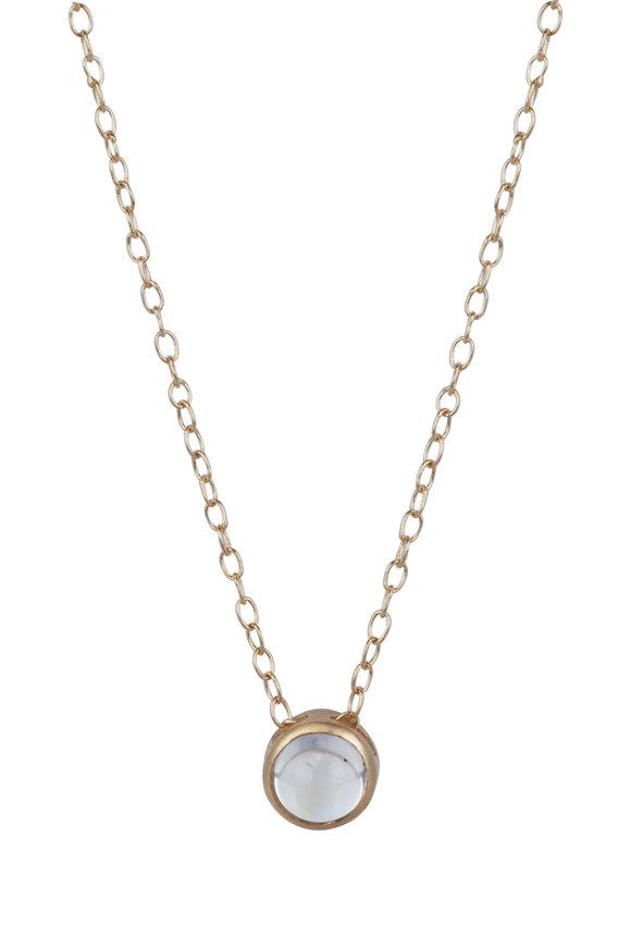 Sandy Leong 18K Gold June Birthstone Pendant Necklace