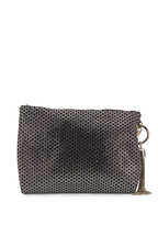 Jimmy Choo - Callie Black Suede & Diamond Crystal Evening Bag