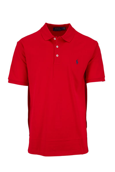 Polo Ralph Lauren - Red Stretch Mesh Short Sleeve Polo