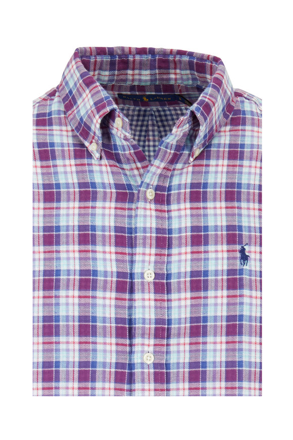 Polo Ralph Lauren Multi Plaid Sport Shirt
