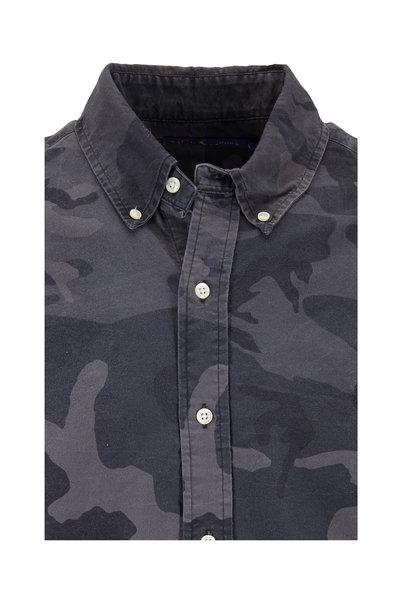 Polo Ralph Lauren - Olive Cotton Camouflage Sport Shirt