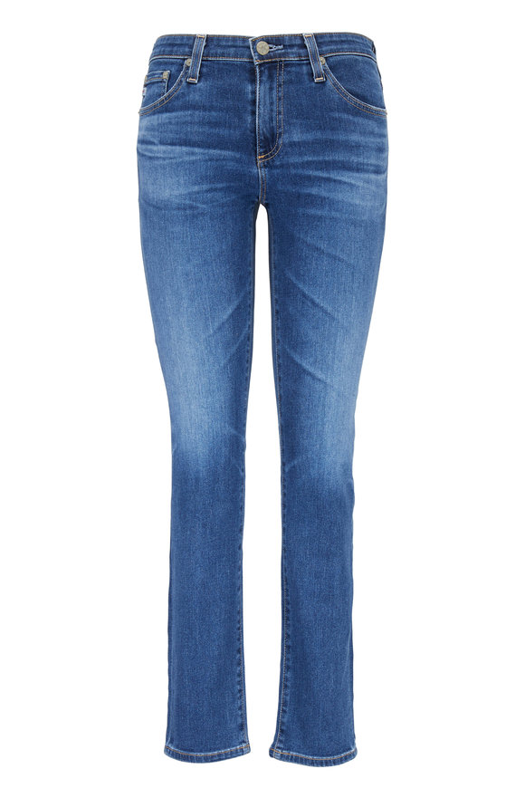 AG - Adriano Goldschmied The Prima Medium Wash Ankle Jean