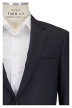 Canali - Solid Charcoal Gray Wool Suit