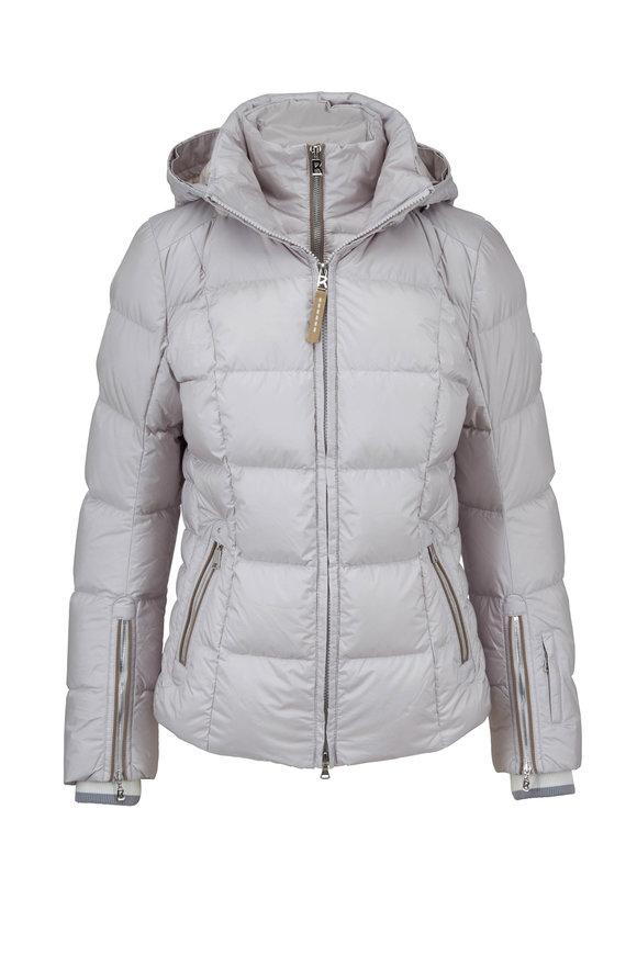 Bogner Vera Silver Puffer Coat