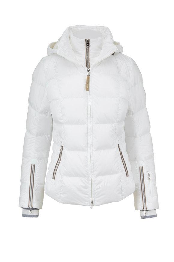 Bogner Vera White Puffer Coat