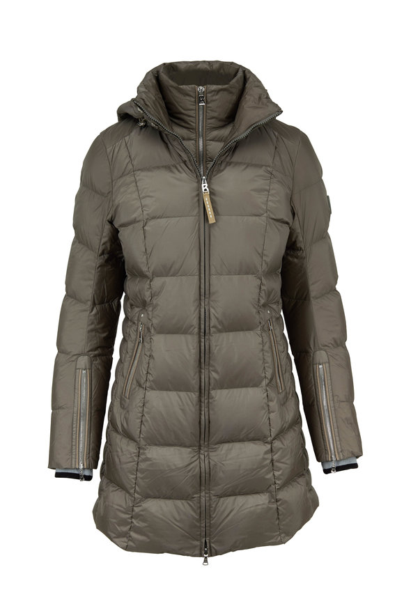Bogner Rose Sage Long Puffer Jacket