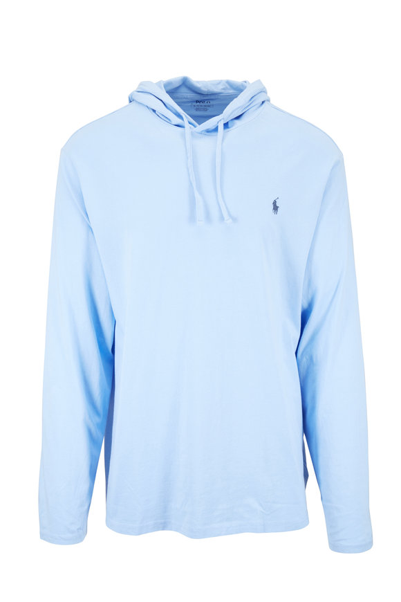 Polo Ralph Lauren Ice Blue Cotton Hoodie