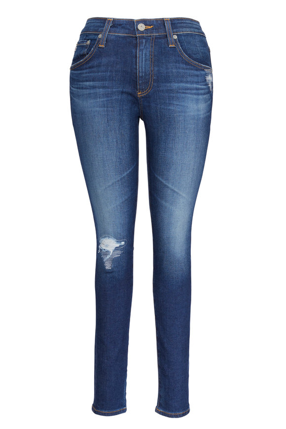 AG - Adriano Goldschmied Farrah High-Rise Ankle Jean