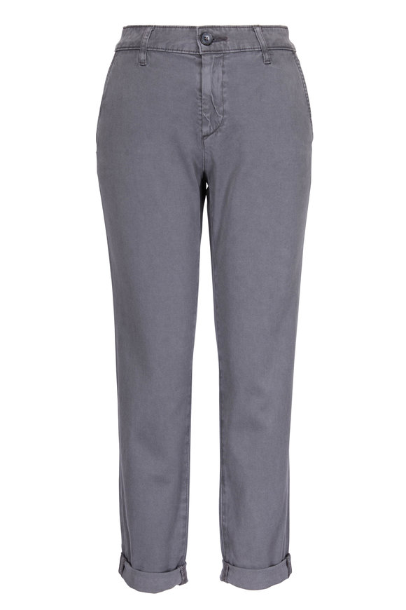 AG - Adriano Goldschmied Caden Grey Slim Fit Trousers