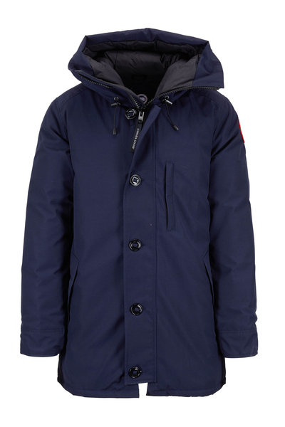 Canada Goose - Chateau Navy Blue Hooded Parka