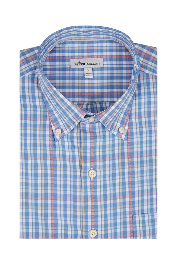 Peter Millar  Runaway Bay Multi Check Sport Shirt