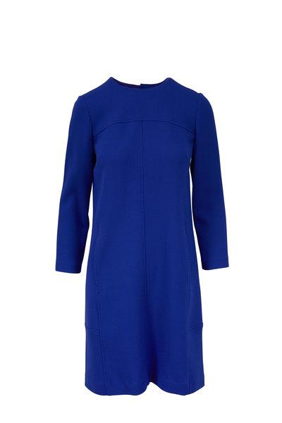 Lela Rose - Lapis Seamed Tunic Dress