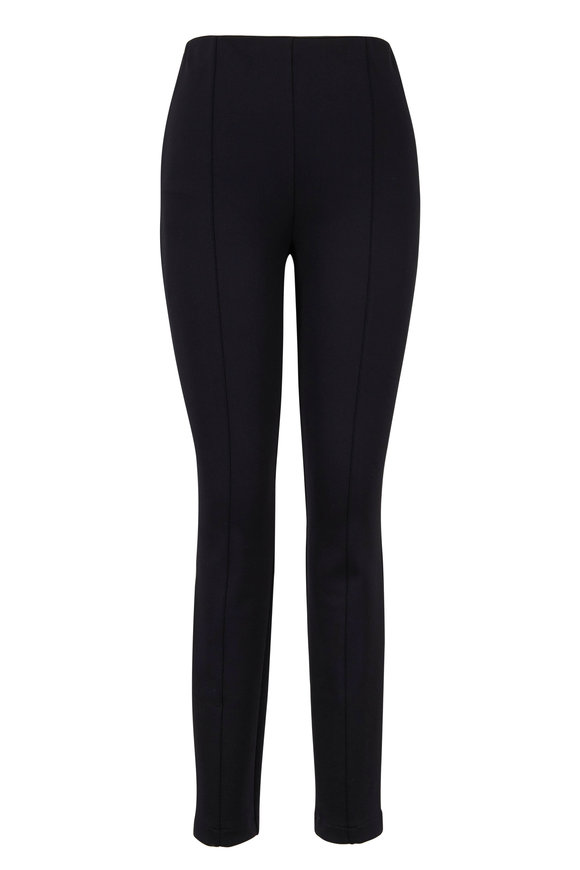 The Row Bosso Black High-Waist Pant