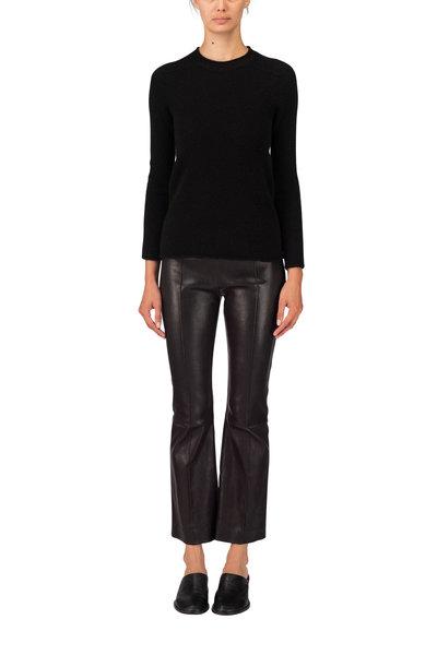 The Row - Middi Black Long Sleeve Top