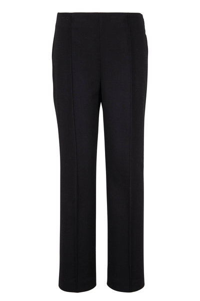 Fendi - Black Wool Seamed Pant
