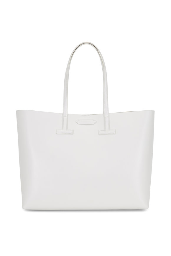 Tom Ford Chalk Saffiano Medium T Tote