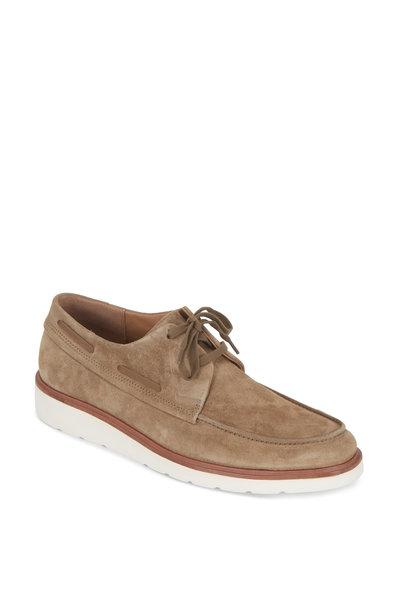 Vince - Wellington Flint Suede Lace-Up Shoe