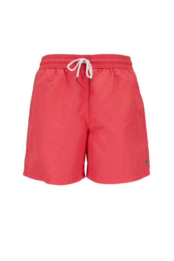 Polo Ralph Lauren Red Swim Trunks