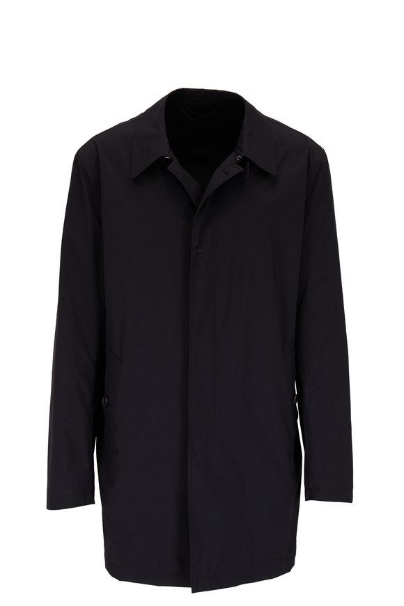 Manto Bertra Navy Blue Packable Raincoat