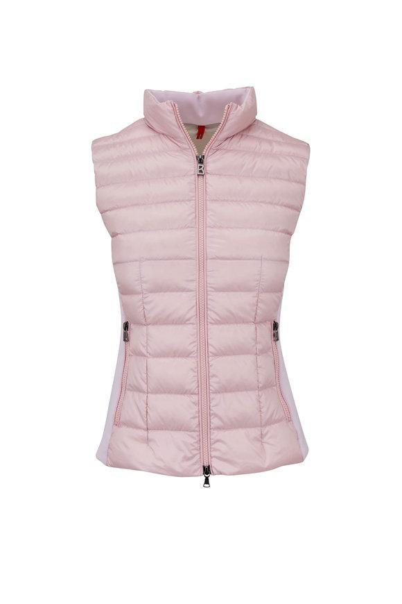 Bogner Hilly Light Pink Quilted Down Vest