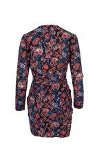 IRO - Fling Black Printed Silk Dress