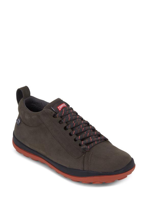 Camper  Peu Pista Dark Green Gore-Tex Sneaker