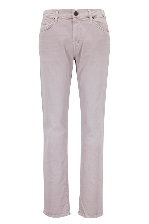 J Brand Tyler Light Pink Slim Fit Jean