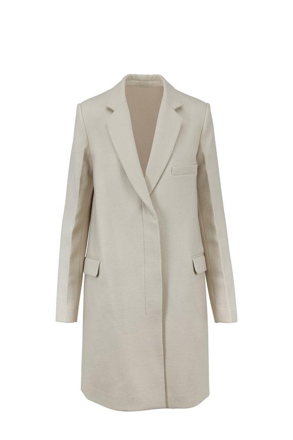 Helmut Lang Essential Oatmeal Wool Jacket