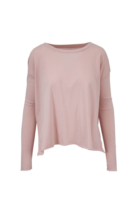 Frank & Eileen Core Pink Cotton Long Sleeve T-Shirt