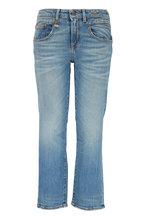 R13 - Boy Light Wash Straight Jean