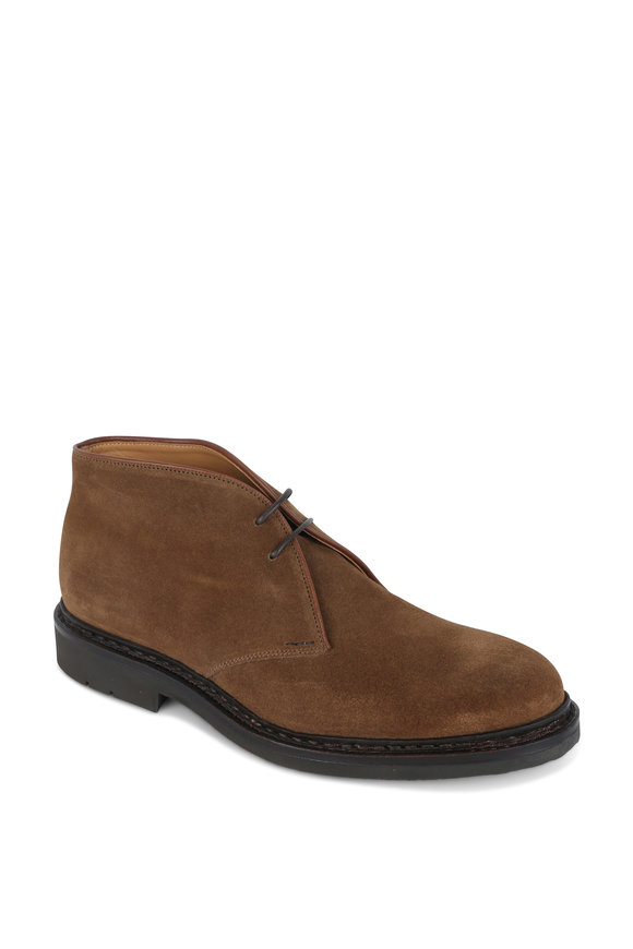 Heschung Genet Brown Suede Desert Boot