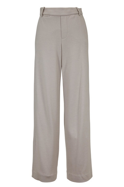 Vince - Cozy Marble Stretch Wool Wide-Leg Pant