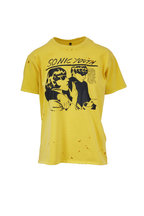 R13 - Yellow Sonic Youth Distressed Boy T-Shirt