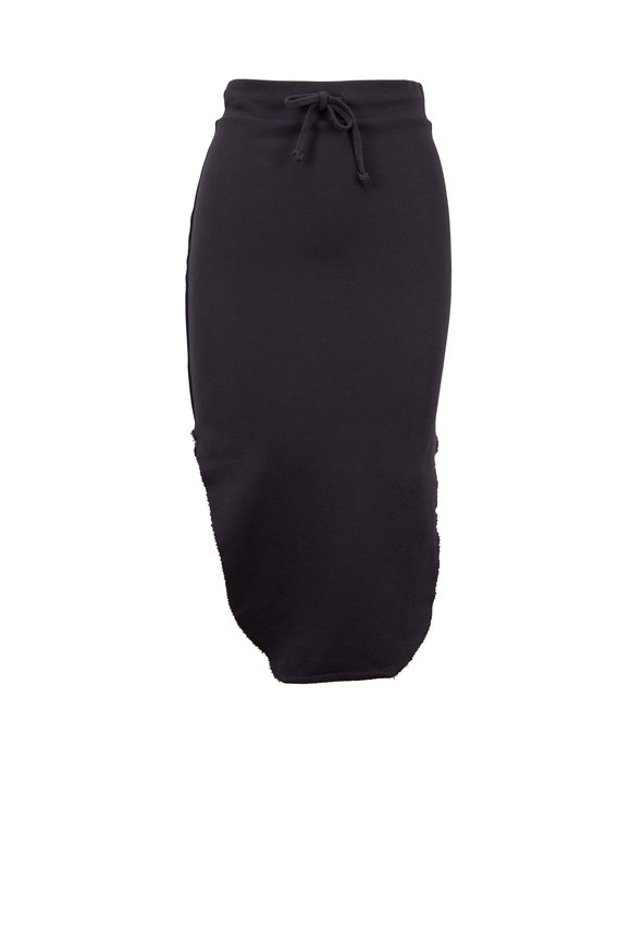 Frank & Eileen Carbon Fleece Pull-On Skirt