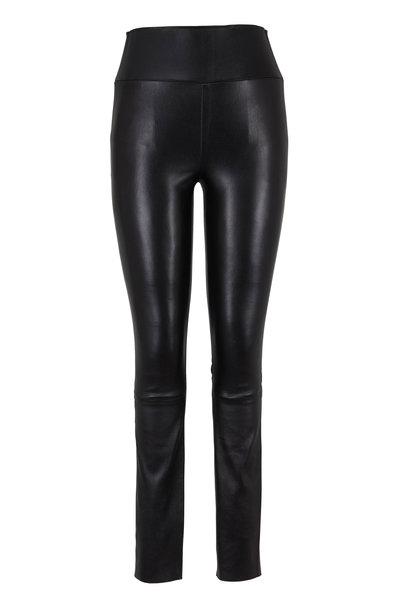 SPRWMN LLC - Black High-Waist Leather Legging
