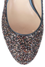 Jimmy Choo - Jessie Amethyst Glitter Pump, 40mm