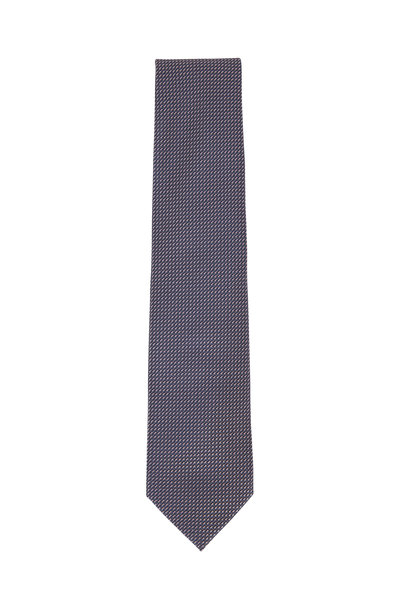 Brioni - Rose Textured Silk Necktie