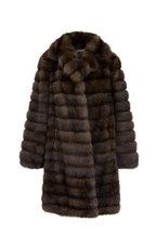 Oscar de la Renta Furs - Stroller Natural Russian Sable Coat