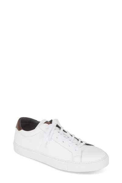 To Boot New York - Knox White Leather Sneaker