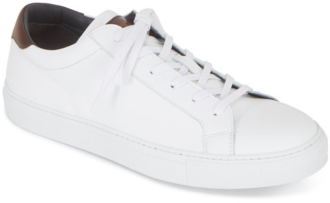 To Boot New York Knox White Leather Sneaker